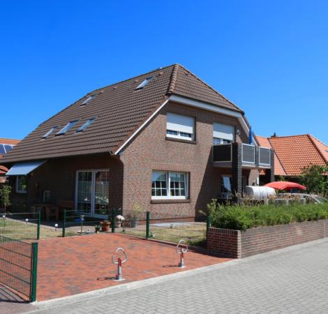 Haus Dannemann Vorderansicht (links)