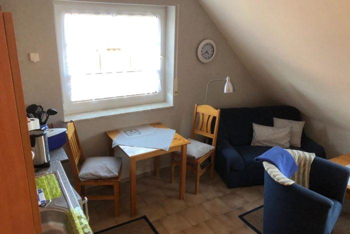 Wohnung 1 - Küche. Ess- & Wohnzimmer (2)